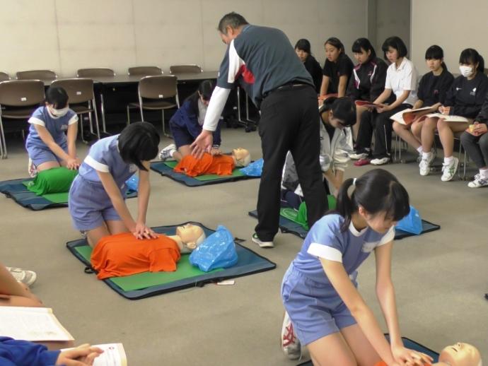 救急救命法講習会が開催されまし...