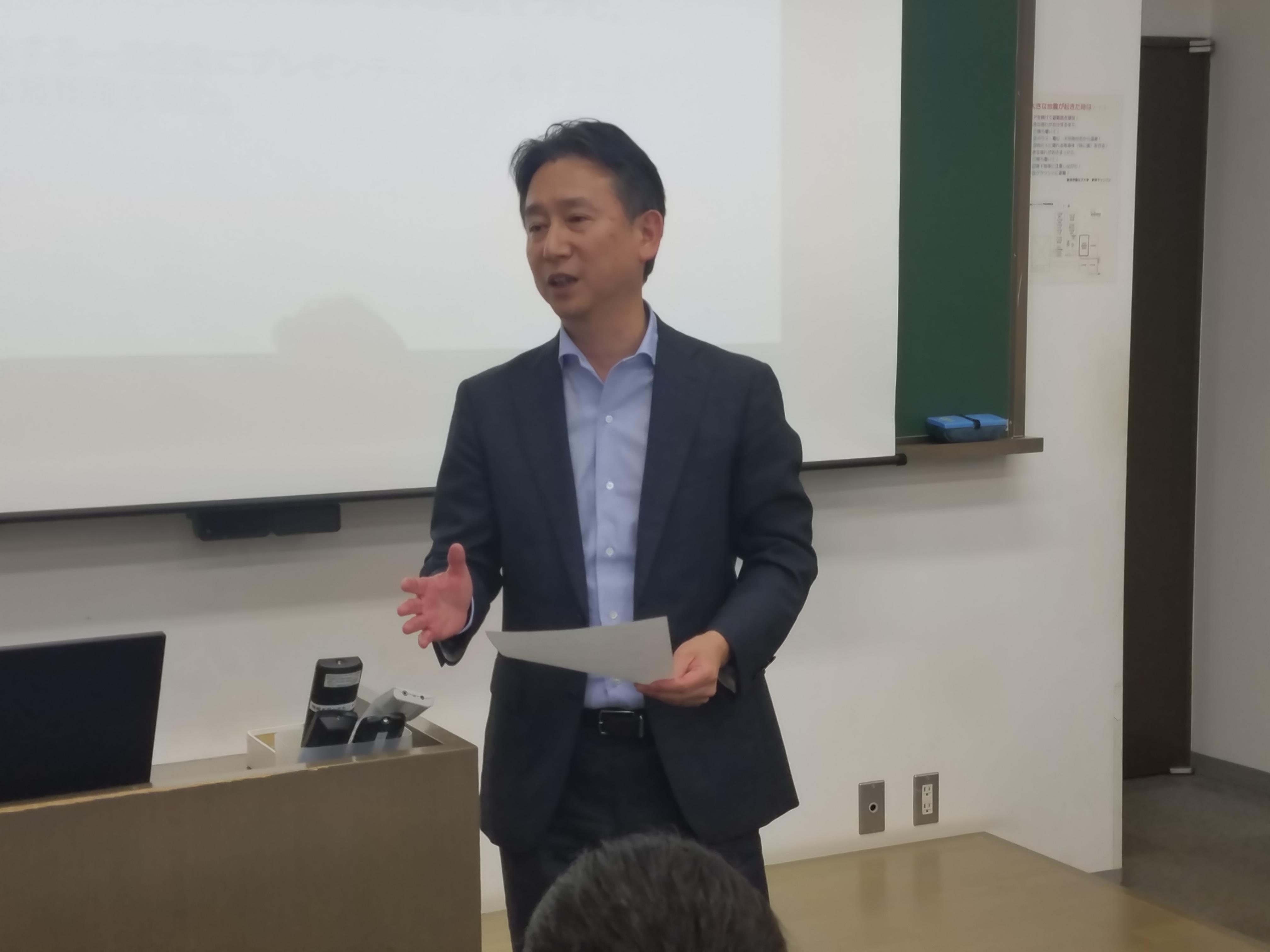 花王プロジェクト西川執行役員によるご講評